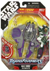 30th Anniversary Pkg: Mace Windu Transformer