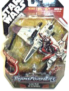 30th Anniversary PKG - Clone Trooper ARC-170 Starfighter Transformer