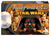 Trivial Pursuite DVD Star Wars Saga Edition