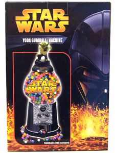 Star Wars Yoda Gumball Machine