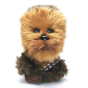 4-Inch Talking Plush - Chewbacca
