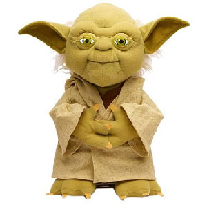 4-Inch Talking Plush - Yoda