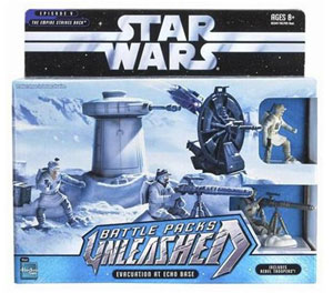 Star Wars Battle Base - Hoth Rebel Base - Evacuation At Echo Base