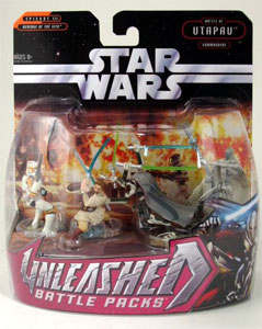 Star Wars Unleashed Battle Pack: Utapau Commanders