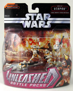 Star Wars Unleashed Battle Pack: Clone Trooper Attack