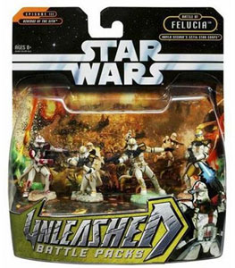 Star Wars Unleashed 4-Pack: Troopers