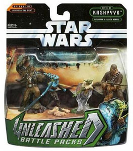Star Wars Unleashed 4-Pack: Kashyyyk & Felucia Heroes