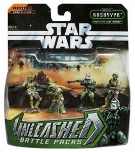 Star Wars Unleashed 4-Pack: Yoda Elite CloneTroopers