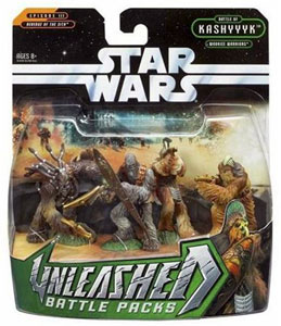 Star Wars Unleashed 4-Pack: Wookie Warriors