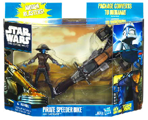 Clone Wars 2010 - Pirate Bike with Cad Bane
