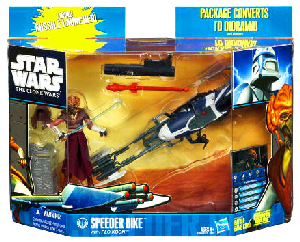 Clone Wars 2010 - Speeder Bike with Plo Koon