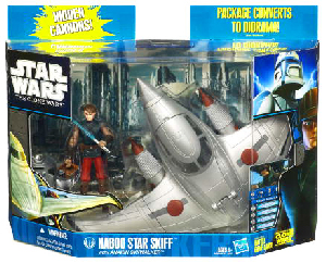 Clone Wars 2010 - Naboo Skiff with Anakin Skywalker