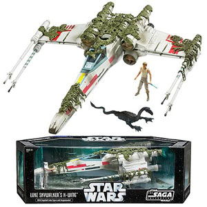 Star Wars Luke X-Wing Starfighter Dagobah Exclusive