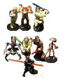 Star Wars EPI - 3-Inch Action Figures Set of 8 From Applause
