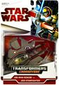 SW Transformers Crossovers RED - Obi-Wan Kenobi to Jedi Starfighter