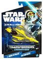 SW Transformers Crossovers Black and Blue - Anakin Skywalker to Jedi Starfighter