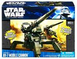Clone Wars 2011 Black and Blue Box - Republic AV-7 Mobile Cannon