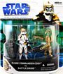 Clone Wars Movie 2-Pack: Clone Commander Cody and Battle Droid