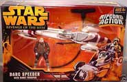 ROTS - Barc Speeder with Ba