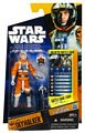 Clone Wars 2010 Black Orange Packaging - Saga Legends - Luke Skywalker in Snow Speeder Gear