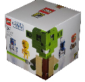 SDCC 2010 LEGO Star Wars Clone Set Cube Dude