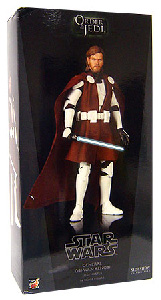 Sideshow Collectibles Order Of The Jedi 12-Inch Clone Wars General Obi-Wan Kenobi