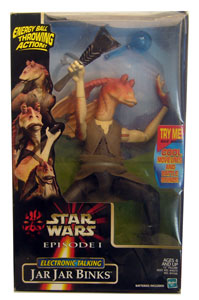 12-Inch Talking Jar Jar Binks