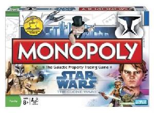 MONOPOLY STAR WARS CLONE WARS
