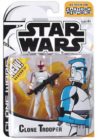 Clone Wars Animated - Red Clone Trooper