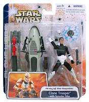 Clone Trooper Speeder Bike Deluxe