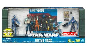 Battle Packs - Exclusive Hostage Crisis[2x Commando Droids, Shahan Alama, Robonino]