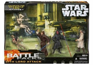 Star Wars Battle Pack - Sith Lord Attack
