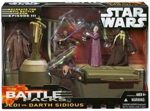 Battle Pack - Jedi Vs Darth Sidious
