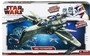 Clone Wars 2009 - Deluxe ARC-170 Fighter