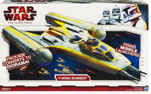 Clone Wars 2009 - Deluxe Y-Wing Bomber
