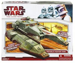 Clone Wars 2009 - Republic Fighter Tank