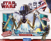 Clone Wars 2009 Red Box - Octuptarra Droid Exclusive