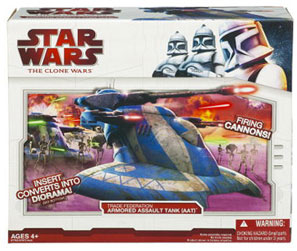 Clone Wars 2009 Red Box - Armored Assault Tank(AAT)
