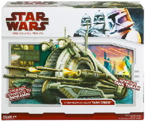 Clone Wars 2009 Red Box - Corporate Alliance Tank Droid
