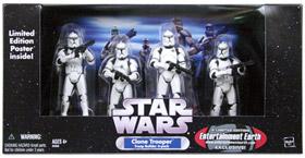Clone Trooper 4-Pack White Clone Troopers