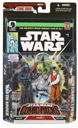 Star Wars Comic Packs: Darth Vader and Rebel Officer