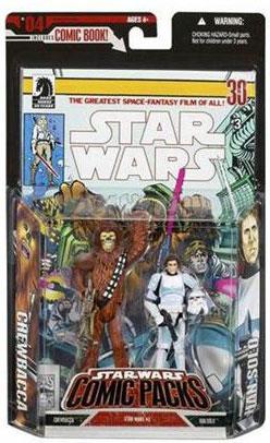 Star Wars Comic Packs: Chewbacca and Han Solo