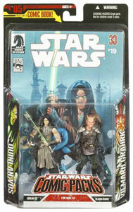 Star Wars Comic Pack  - Quinlan Vos and Vilmarh Grahrk