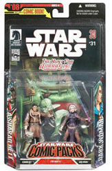 Star Wars Comic Pack - Asharad Hett and Dark Woman