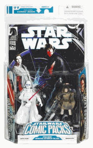 Star Wars Comic Pack - Darth Vader and Leia Sniper