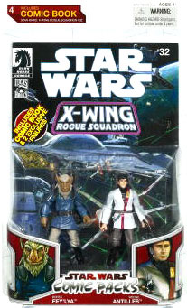 Star Wars Comic Pack - Borsk Faylya and Wedge Antilles