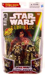 Star Wars Comic Pack - Clone Trooper and Clone Commander