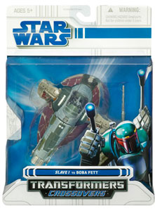 SW Transformers Crossover- Boba Fett To Slave I