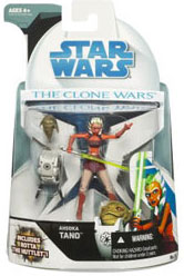 Clone Wars 2008 - Ahsoka Tano with Rotta The Hutt