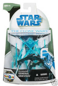 Clone Wars 2008 - Holographic General Grievous Exclusive